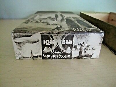 Vintage 1883-1933 Worlds Fair CANDY BOX,WRAPPER, TAX TOKEN, PICK, PIN advertisin