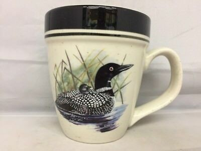 Loon Lake by Scotty Z. Coffee Mug Folkcraft Stoneware
