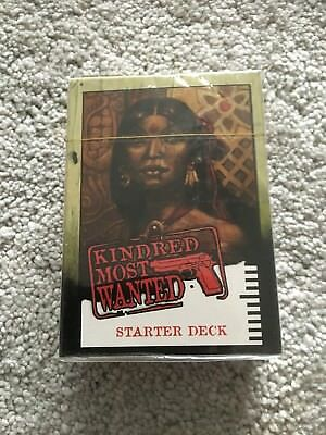 VTES CCG: Kindred Most Wanted Starter Deck - ANATHEMA (SEALED)