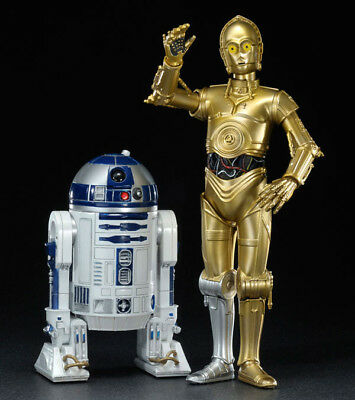 Star Wars ARTFX+ C-3PO and R2-D2 PVC Statue Twin Pack