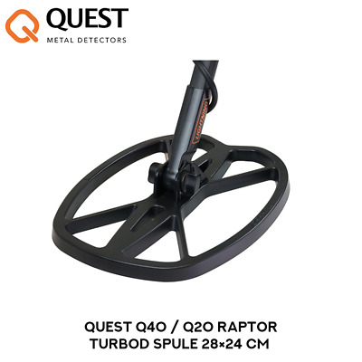 Quest Q40 / Q20 Raptor TurboD Spule 28×24 cm