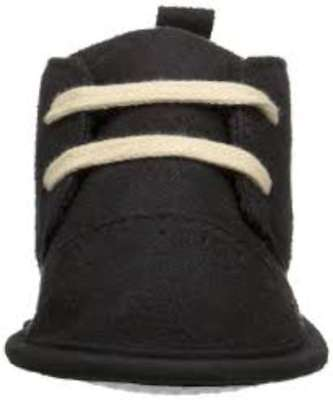 Luvable Friends Baby Boy 11823 Pull On Sneakers, Black, Size 6-12 Mount US US /