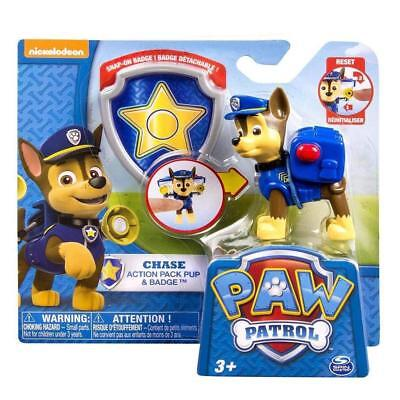 Paw Patrol Action Pack Pup and Badge - Snap on Badge Chase