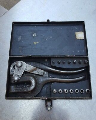 Vintage Hyro Whitney Metal Tool Co Punch No.0.X. Metal Punch