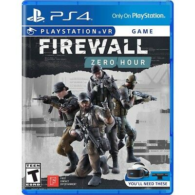 PRESALE Firewall Zero Hour Playstation 4 PS4 Brand New Factory Sealed