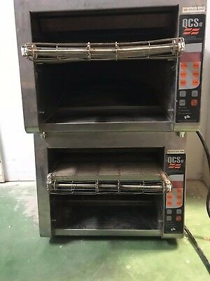 Lot of 2 Holman Top convention toaster qcs-3-950h