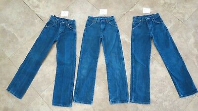 ~GREAT SHAPE!~Boys Wrangler Jeans size 10 slim ~Buy One or All~ Style #13MWZBP