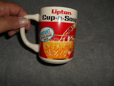 Vintage Coffee Cup - Lipton Cup - A - Soup