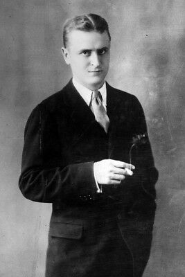 "New 4x6 Photo: American ""Jazz Age"" Writer and Novelist F. Scott Fitzgerald"