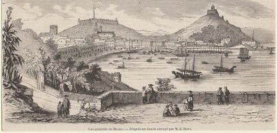 Orig. Holzstich - Macao.
