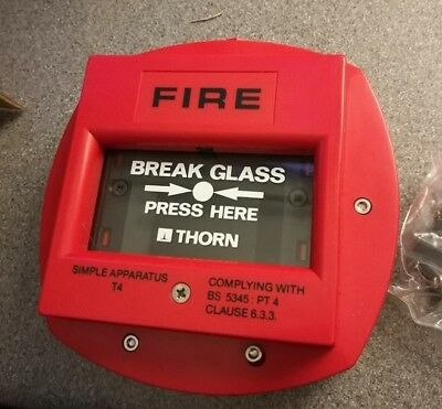 Thorn Security CP220 fire alarm emergency press security alarms call point