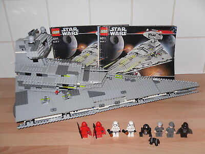 Lego Star Wars Imperial Star Destroyer 6211 Complete With Manuals