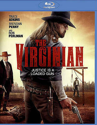 The Virginian (Blu-ray, 2014) Trace Adkins - BRAND NEW/FACTORY SEALED/FREE S/H