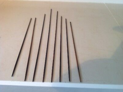 8 Gong Rods From A Vintage Wall Clock.