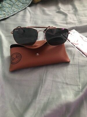 8ecb859cd9 RAY BAN 3560 The Colonel Gold w Green Crystal (G-15) Lens (RB3560 ...