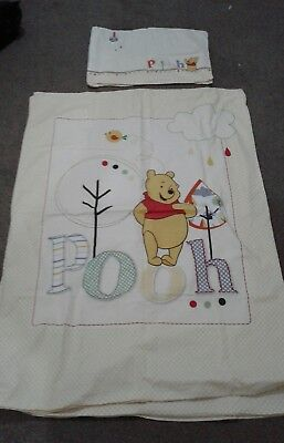 Winnie the pooh cot bedding set