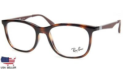 cb12ff417a4 NEW Ray Ban RB7078 2012 HAVANA EYEGLASSES GLASSES FRAME RB 7078 51-18-145