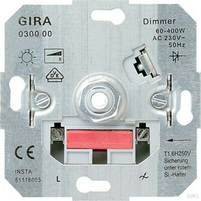 Gira 030000 Dimmer Turn out Light Bulb 60 400 W Mounting