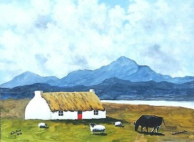 Original Irish Paintings,Irish Art,Connemara,Co. Galway,by Gerry Dillon,Dingle.