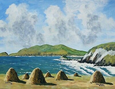 Original Irish Paintings,Irish Art, Slea Head,Dingle,Co Kerry, by Gerry Dillon.