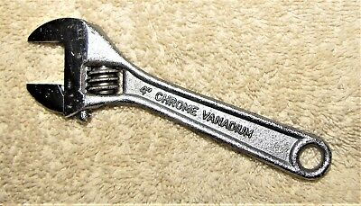 "4"" Crescent Wrench CR-V H"