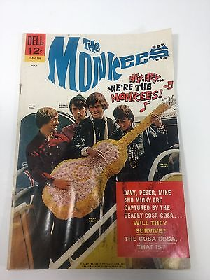 The Monkees, 12-533-705, No.2. Dell Comic, May 1967, VG-FN,5.0