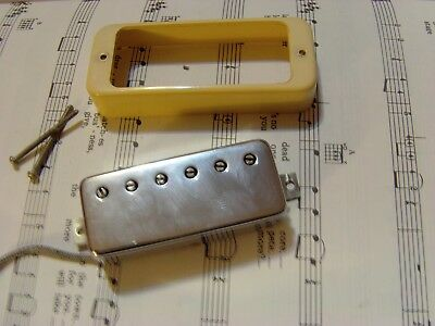 GIBSON MINI HUMBUCKER 70'S 80's WITH RING, SPRINGS & SCREWS