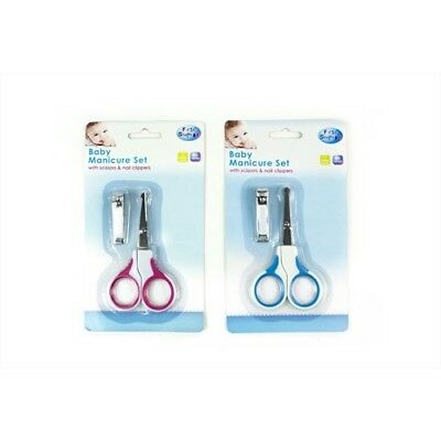 First Steps Baby Manicure Set with Nail Scissors