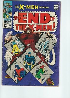 Marvel Comics The X-Men #46 (July 1968)