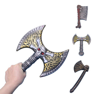 Halloween Costume Party Trick Props Plastic Axe Knife Weapon Toy School Holiday