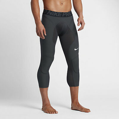 Nike Pro HyperStrong Men's Baseball Slider Tights - Black Anthracite 807852-060