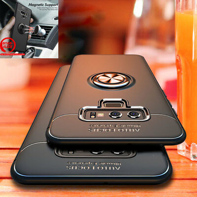Magnetic Stand Armor Case for SAMSUNG GALAXY Note 9 8/S9 A6 Plus Shockproof Case