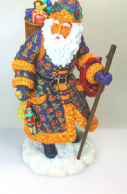 Pipka Memories of Christmas Victorian Father Christmas Mint in Box with COA