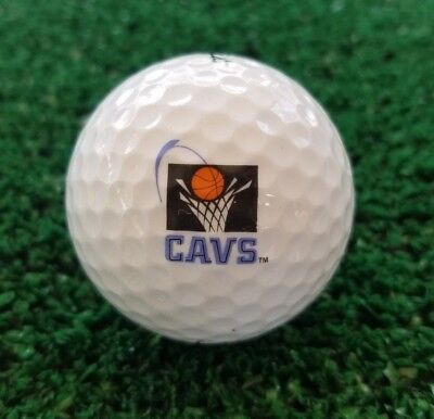 Rare CAVS CLEVELAND CAVALIERS Basketball 1994-2003 (1) LOGO GOLF BALL -Titleist