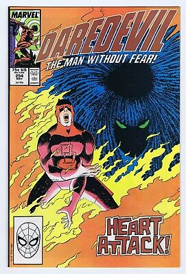Daredevil 254 8.5 9.0 1St Typhoid Mary   Super Glossy  Nice Pages  Cc