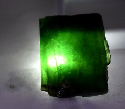 68 Ct Natural Translucent Green Serpentine Earth Mined Facet Slab Rough