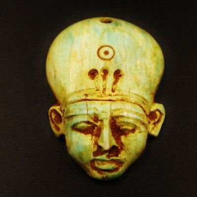 Rare Antique Egyptian Faience Amulet Figurine