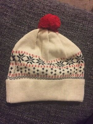Baby Beanie X Small 0-6 Months Bebe Brand