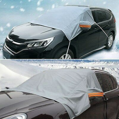 Universal Car Front Rear Windshield Snow Cover Frost Sun Protector waterproof 1X