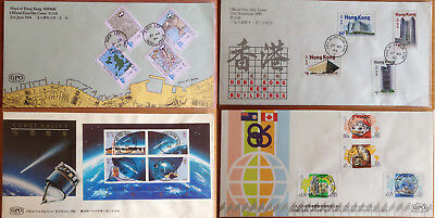 Hong Kong Stamp Issue FDC (x15) 1984-1988