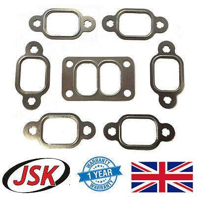 Exhaust Manifold & Turbo Gasket Set Cummins 5.9L 6B 6BT 6BTA DAF JCB Case IH