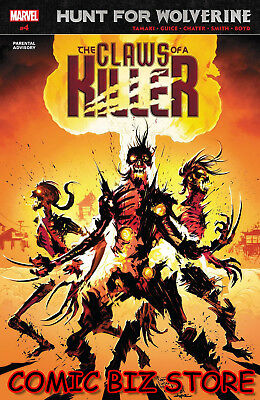 Hunt For Wolverine Claws Of A Killer #4 (Of 4) (2018) 1St Printing Marvel Comics