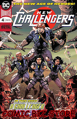 New Challengers #4 (Of 6) (2018) 1St Print Dc Universe Rebirth Bagged & Boarded