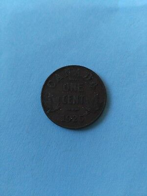 1925 Small Penny (1c), No Reserve!