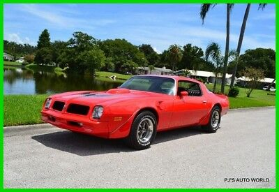 Pontiac Trans Am Numbers matching L75 455 HO factory radio and console delete 1976 Numbers matching L75 455 HO factory radio and console delete