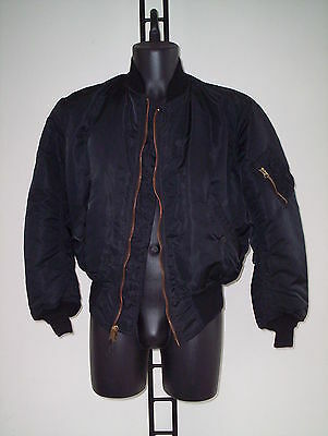 Jacket Original U S A  Bomber Alpha Tg Small  Nero
