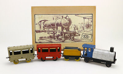 CR Charles Rossignol Rame Tole France Blech Zug Dampflok Vintage tin toy train