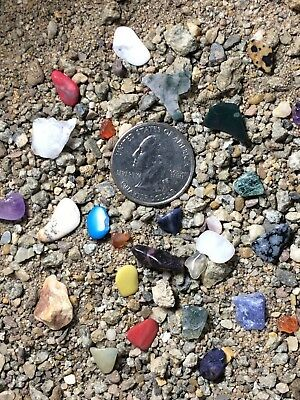 1/2 lbs Gold Paydirt 100% Unsearched and Guaranteed Added GOLD! Panning Nuggets