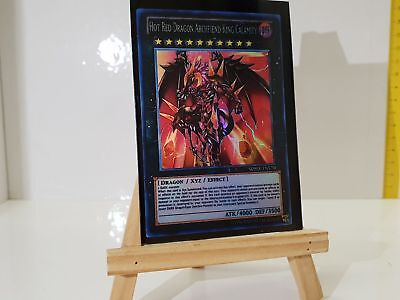 YuGiOh Orica Hot Red Dragon Archfiend King Galamity Götter Holo Custom