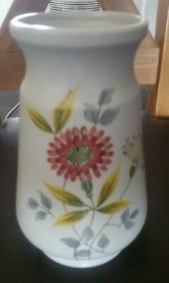 "Radford, Art Deco Hand Painted styalised Vase  rare large 9"" inch"